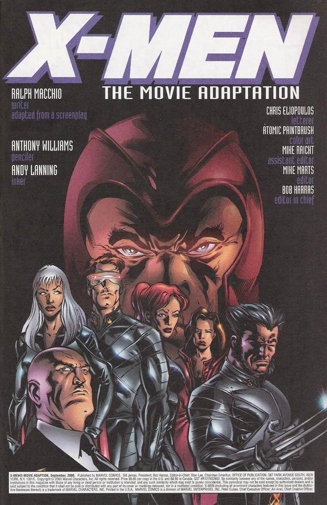 X Men 2000 Mystique The Scott and Jean Arc...