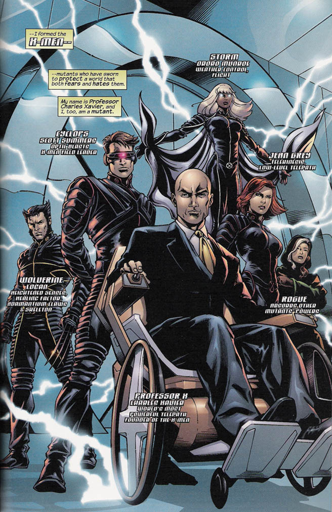 Cerebro X Men Comic